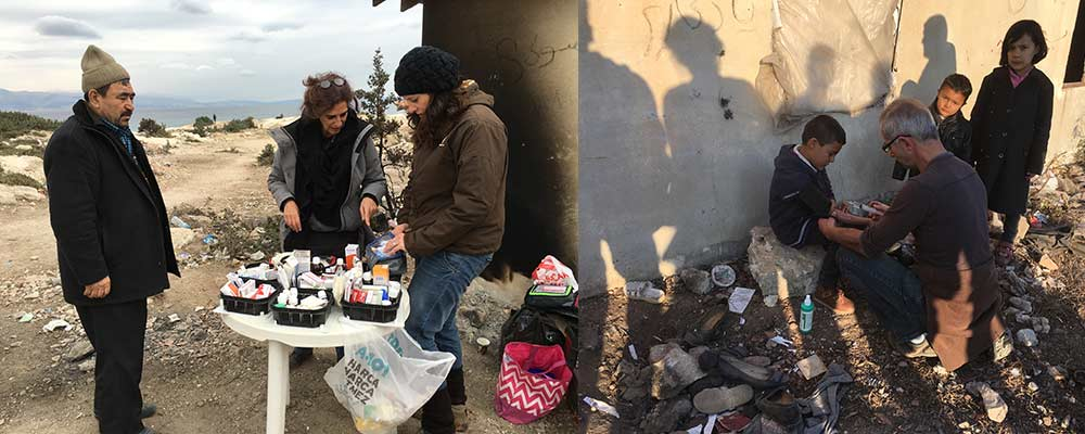 Çeşme area refugees