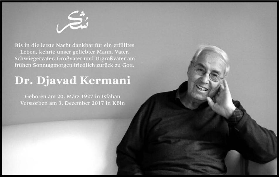 Dr. Djavad Kermani