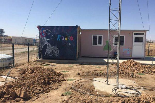 Radio Activity in Arbat refugee camp