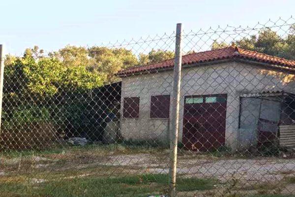 Schule in Moria auf Lesbos