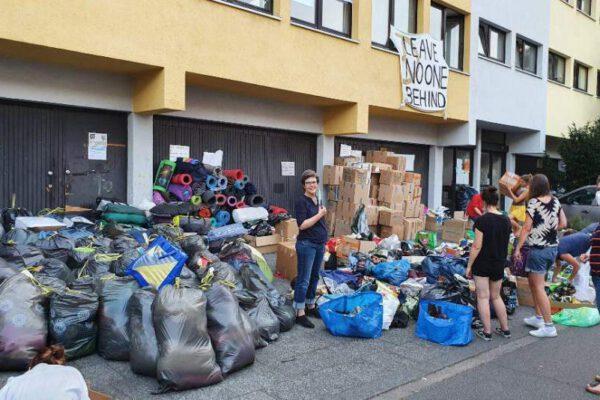 Deutschlandweite Hilfsaktion für Lesbos
